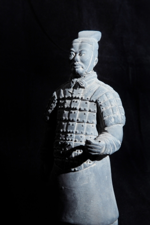 terracotta: terracotta army figure in china Editorial