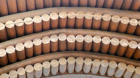 roof framework: Wooden roof framework Stock Photo