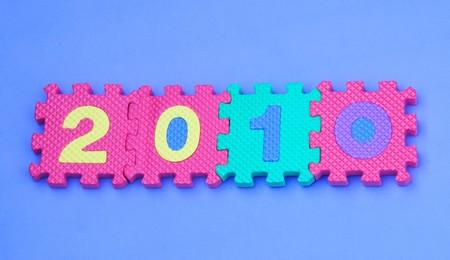 inlay: Numbers inlay in the foam board
