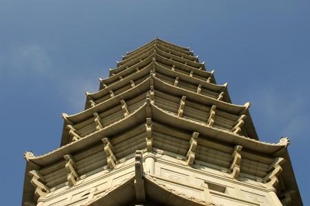 Templos chinos Foto de archivo - 9273254