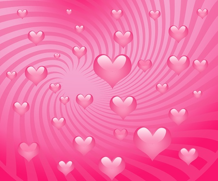 Sweet red hearts   photo
