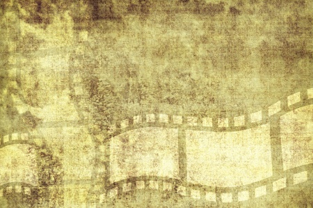 grunge cinema background with rough textures  photo