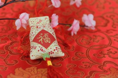 seasonal symbol: saludo de conejo a�o nuevo chino