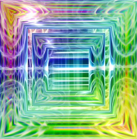 abstract background of magic burst with rays of light Stock Photo - 9190439