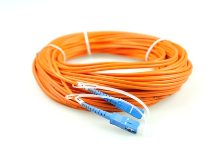 fiber optical network cable   photo