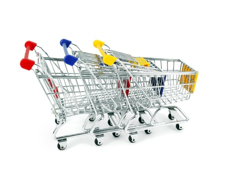 concept of shopping cart with a globe world Stock Photo - 11737078