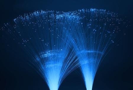 Abstract Internet technology fiber optic background Stock Photo - 11519361
