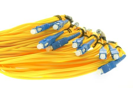 fibra óptica: cable de fibra óptica red