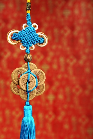 trinkets: Lucky knot for Chinese new year greeting