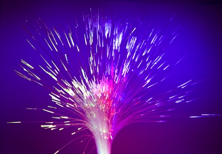 Abstract Internet technology fiber optic background  photo