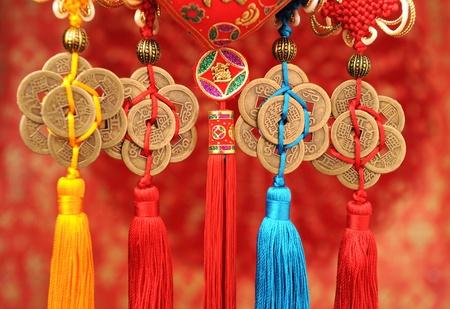Geluksknoop voor Chinese nieuwe jaar wens