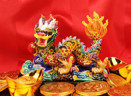 year of Dragon,Chinese New Year decoration photo