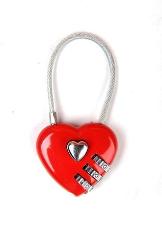 conundrum: heart shape lock locked