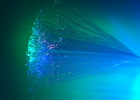 Abstract Internet technology fiber optic background Stock Photo - 13552493