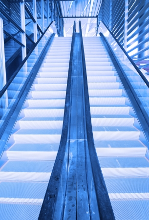 staircase in an airport