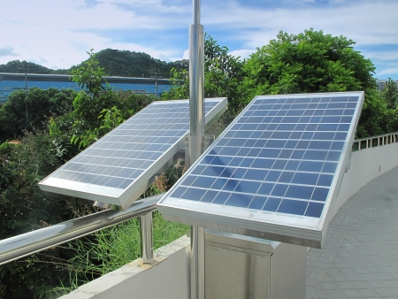 solarpanel: solar panels on the roof