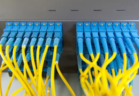 networking cables: Data transfer by optical fibre information technology