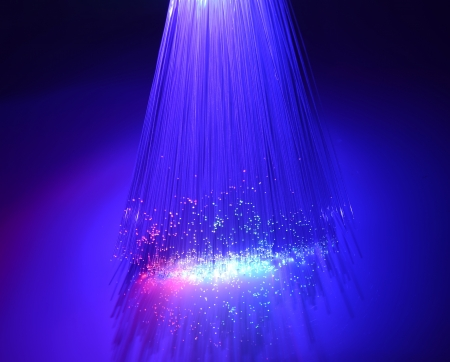 Abstract Internet technology fiber optic background Stock Photo - 15723063