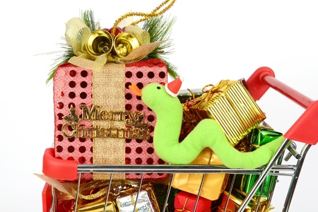 Colorful gift boxes with ribbon and bow Stock Photo - 16642081