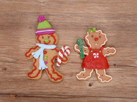 Ginger bread cookie man  photo