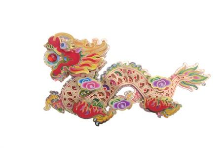 editable eastern asia: Chinese Zodiac dragon