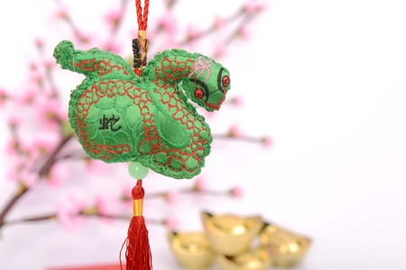 Chinese lucky knots used during spring festival Stock Photo - 17057124