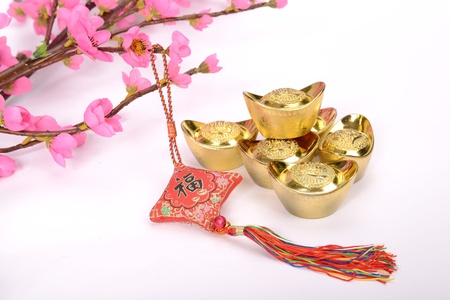 Chinese lucky knots used during spring festival Stock Photo - 17057128