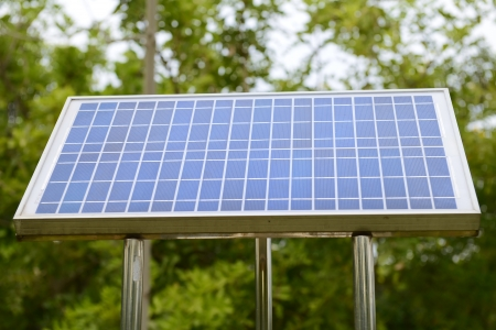 solar panels on the roof Stock Photo - 17304900