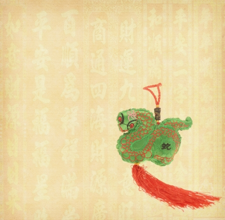 Chinese lucky knots used during spring festival Stock Photo - 17305009