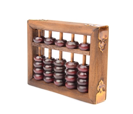abaci:  abacus mean symbols of wealth and prosperity Stock Photo
