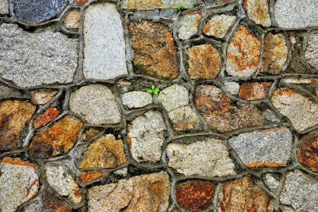slate texture: rough grunge brick wall background Stock Photo