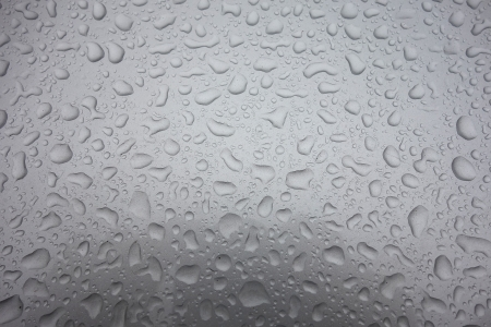 coating: Water drops on car Paint coating