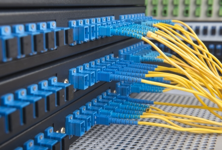 fiber cable: fiber cable serve with technology style against fiber optic background