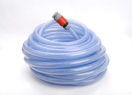hose: Garden Hose on White Background