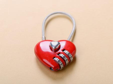 heart shape lock photo