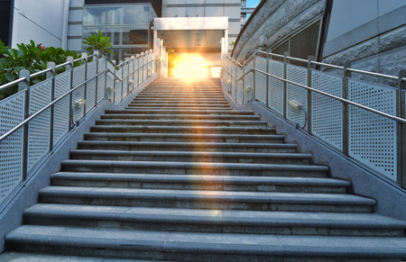 Stairs in the outdoor photo