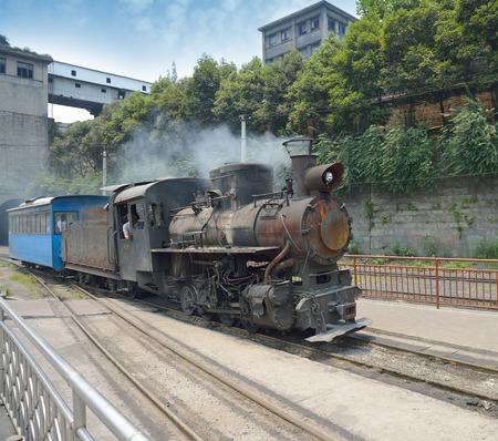 narrow gauge railway,Chinas Sichuan province.