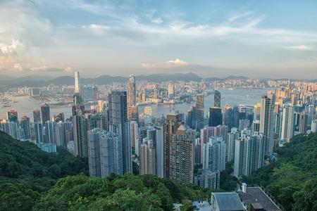 Hong Kong viewed from Victoria Peak Stock Photo - 31126052