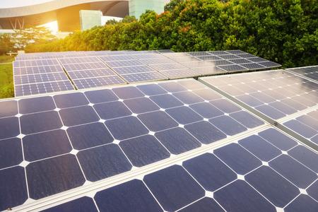 solar power plant: Solar Power Plant Stock Photo