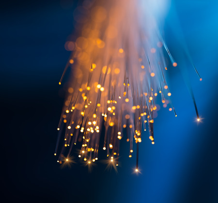 fiber optic: fiber optical network cable