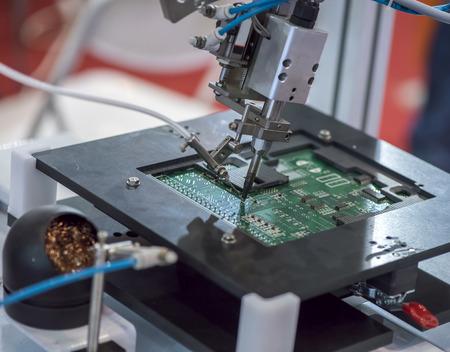 welding: Robot Welding Stock Photo