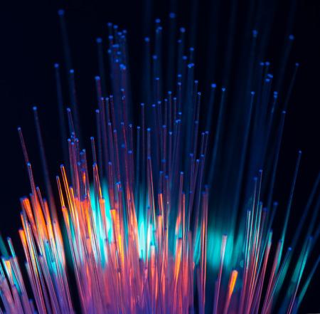 information design: fiber optical network cable