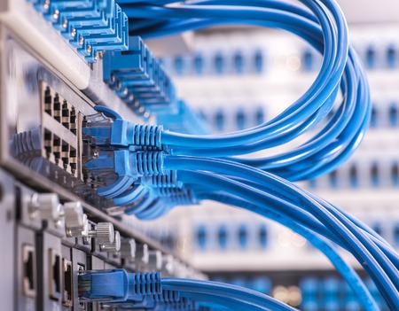 Chuyển đổi mạng và cáp điện, Trung tâm dữ liệu Khái niệm. Kho ảnh