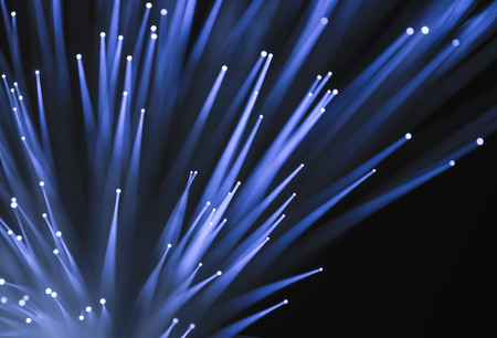 network port: fiber optical network cable