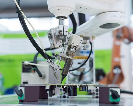 mechanism: Robot Welding Stock Photo
