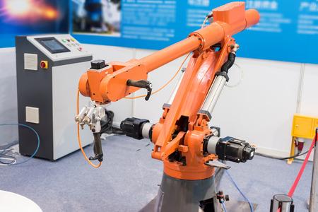 mano robotica: robotic hand machine tool at industrial manufacture factory