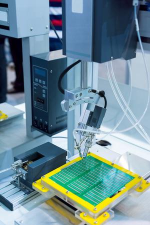 robot: Robot Welding Stock Photo