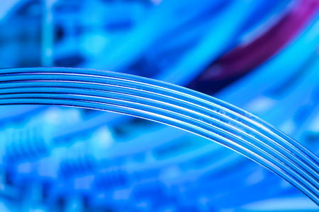 fiberoptic: fiber optics Stock Photo