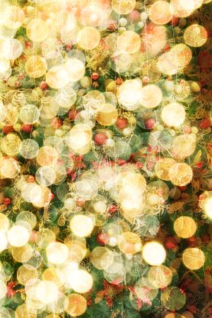 light circular: Abstract circular bokeh background of Christmas light