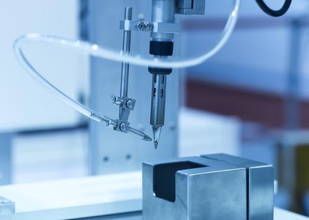 working hands: Robot Welding Stock Photo